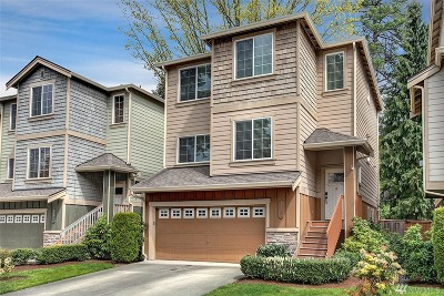 Burien Condo/Townhouse For Sale: 16262 2nd Place S #5