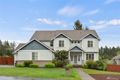 Gig Harbor Single Family Home For Sale: 6812 29th St Ct NW
