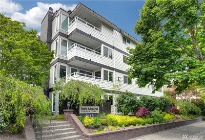 Seattle Condo/Townhouse For Sale: 2115 California Ave SW #303