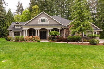 Thurston County Single Family Home For Sale: 3619 Pennant Ct NW