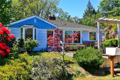 Seattle Single Family Home For Sale: 10415 39th Ave SW
