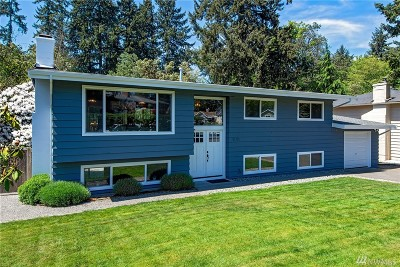 Kenmore Single Family Home For Sale: 14315 73rd Ave NE