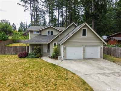 Lakebay WA Single Family Home For Sale: $257,500