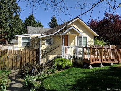 King County Single Family Home For Sale: 10714 Linden Ave N