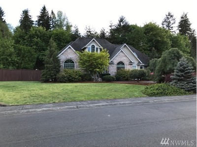 Tacoma Single Family Home For Sale: 3124 158th St. Ct. E.
