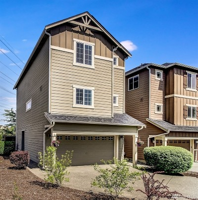 Bothell Condo/Townhouse For Sale: 3427 164th Place SE