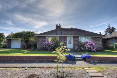 Centralia Single Family Home For Sale: 809 K St