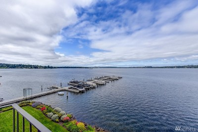 Kirkland Condo/Townhouse For Sale: 6401 Lake Washington Blvd NE #309