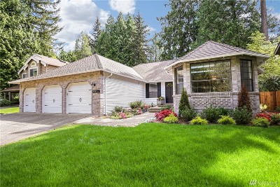 Redmond Single Family Home For Sale: 13830 173rd Ave NE