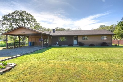 Centralia Single Family Home For Sale: 2405 Foron Rd