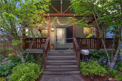 Seattle Single Family Home For Sale: 6326 5th Ave NE