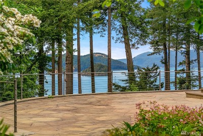 Anacortes Single Family Home Sold: 4142 Clark Point Rd