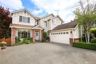 Renton Single Family Home For Sale: 3310 Monterey Lane NE