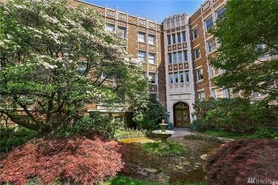 Seattle Condo/Townhouse For Sale: 5810 Cowen Place NE #108