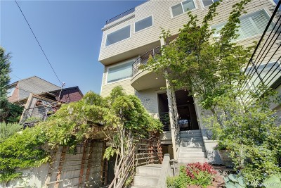 Seattle Condo/Townhouse Sold: 1430 1st Ave N #5