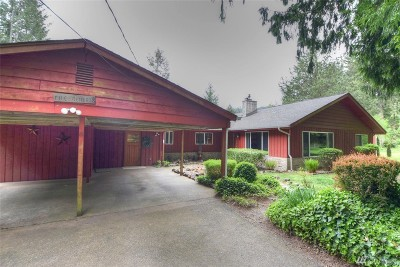 Olympia Single Family Home For Sale: 6335 Cedar Flats Rd SW