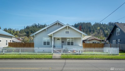 Chehalis Single Family Home For Sale: 460 SW Cascade Ave
