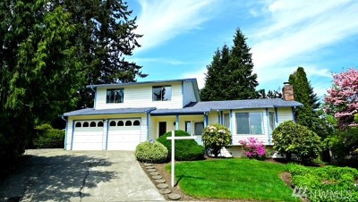 Kent WA Single Family Home For Sale: $409,000