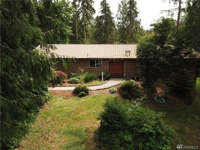 Snohomish Single Family Home For Sale: 21230 E Lost Lake Rd