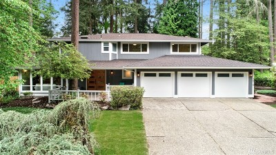 Bellevue Single Family Home For Sale: 3818 142nd Place NE