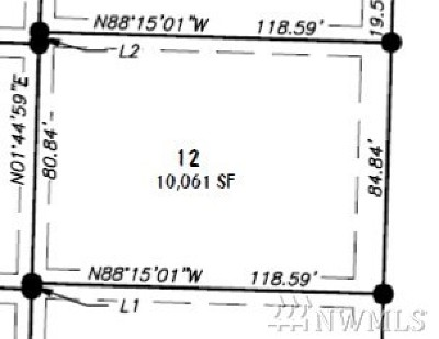 Lynden Residential Lots & Land For Sale: 12 Lot Rye Ct