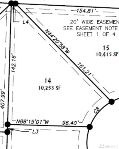 Lynden Residential Lots & Land For Sale: 14 Lot Rye Ct