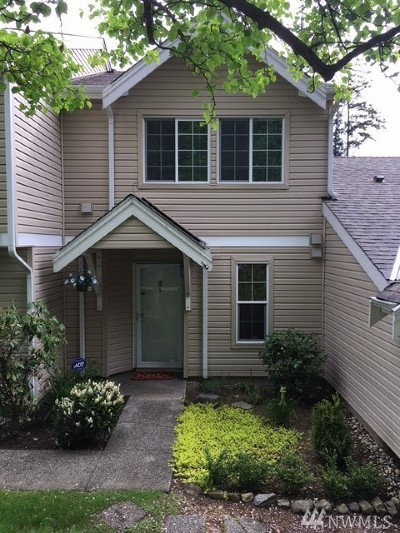 Federal Way Condo/Townhouse For Sale: 2100 S 336th St #D4