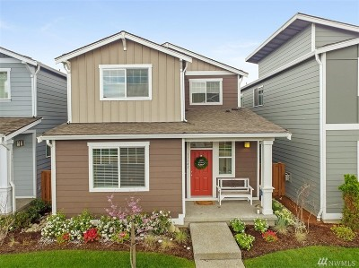 Puyallup Single Family Home For Sale: 11542 173rd St E