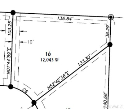 Lynden Residential Lots & Land For Sale: 16 Lot Rye Ct