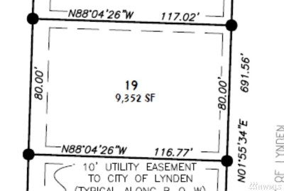 Lynden Residential Lots & Land Pending: 19 Lot Rye Ct