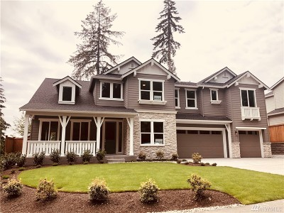 Bothell Single Family Home For Sale: 23725 3rd (Lot 4) Ave SE