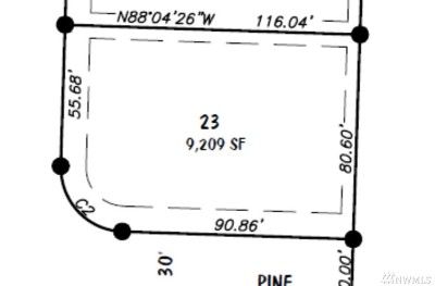 Lynden Residential Lots & Land For Sale: 23 Lot Pine St.