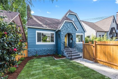 Seattle Single Family Home For Sale: 3441 15th Ave S