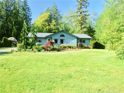 Sedro Woolley Single Family Home For Sale: 22913 Mosier Rd