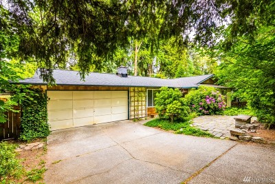 Redmond Single Family Home For Sale: 8206 134th Place NE