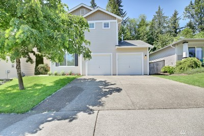 Bonney Lake Single Family Home Contingent: 10001 194th Ave E