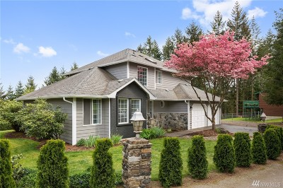 Port Orchard Single Family Home For Sale: 7550 Sidney Rd SW