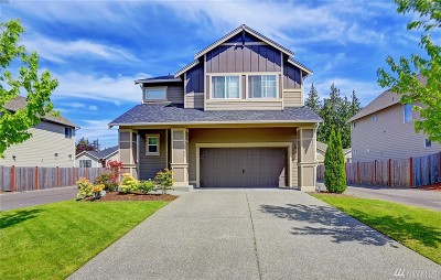 Spanaway Single Family Home For Sale: 1909 184th St Ct E