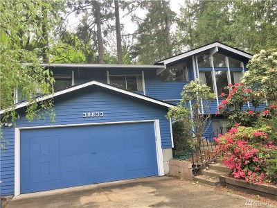 Federal Way Single Family Home For Sale: 30633 15th Place SW