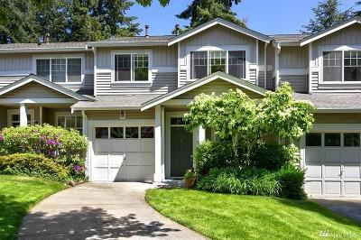 Redmond Condo/Townhouse For Sale: 9626 179th Place NE #3