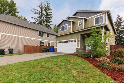 Spanaway Single Family Home For Sale: 1306 180th St Ct E