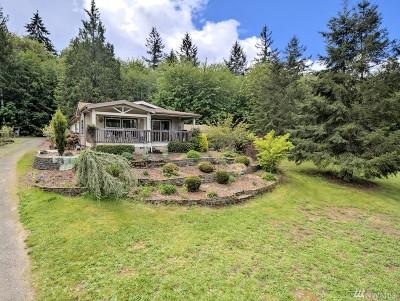 Mason County Single Family Home Pending Inspection: 241 E Rasor Rd