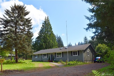 Mason County Single Family Home Sold: 330 SE Evergreen Dr
