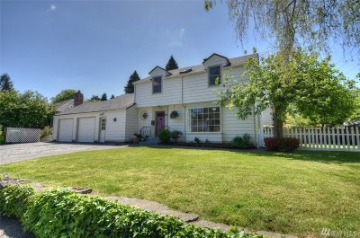 Olympia Single Family Home For Sale: 703 Governor Stevens Ave SE