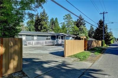 Tukwila Single Family Home For Sale