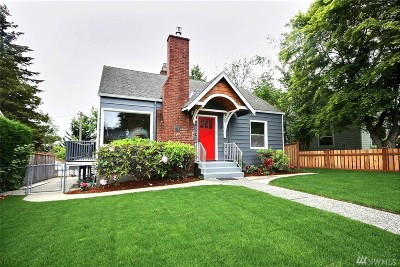 Seattle Single Family Home For Sale: 3707 SW Sullivan St