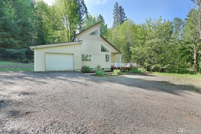 Mason County Single Family Home Pending Inspection: 2661 W State Route 108