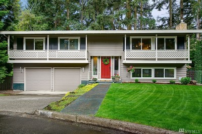 Kirkland Single Family Home For Sale: 11809 NE 142nd St