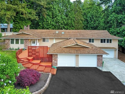 Edmonds Single Family Home For Sale: 12629 Scenic Dr
