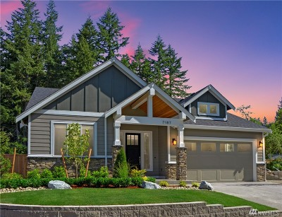 Gig Harbor Single Family Home For Sale: 7152 Teal Lp